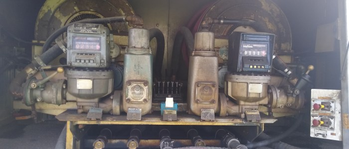 Used International 4900 fuel truck for sale