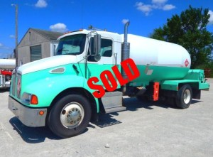Used Kenworth propane delivery truck