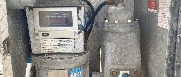 Used 3200 gallon propane truck