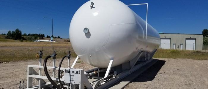 30k gallon LP skid unit