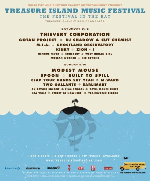 Treasure Island Music Festival 2007 TIMF