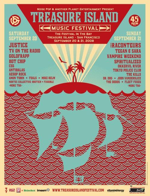 Treasure Island Music Festival 2008 TIMF