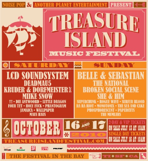 Treasure Island Music Festival 2010