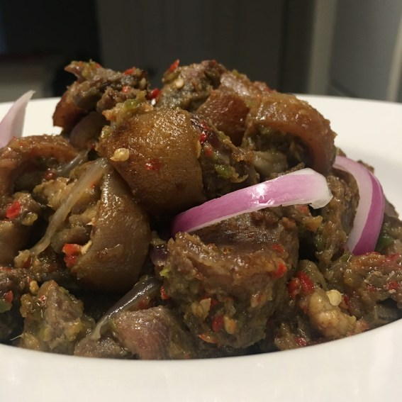 Asun (Peppered Goat Meat)