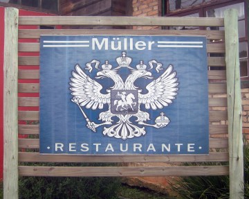 A very Brazilian restaurant with a very German name.