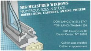 Mis Measured Windows