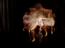 Dresses in movement - part of a performance piece I created and photographed on dancers for my degee show