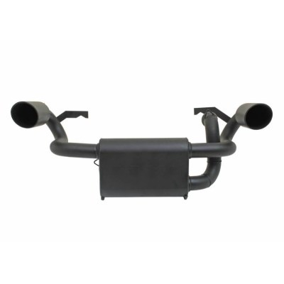 Gibson Performance UTV Dual Exhaust-2015 Polaris Black Dual 98024