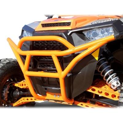 Allied Powersports Dragonfire RacePace Front Bash Bumper for Polaris RZR 01