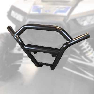 1003-BK Polaris RZR Front Bumper by Allied Powersports-Ghost