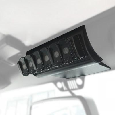 2008-6 TRIGGER SIX SHOOTER Jeep JK Overhead RF Remote Bracket 02 | Allied Powersports
