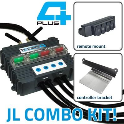 TRIGGER 4 PLUS Jeep JL Wireless Controller Combo Kit 2100JL