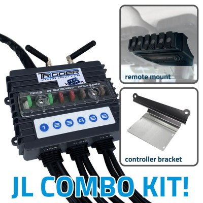 TRIGGER 6 SHOOTER Wireless Controller Combo Kit Jeep JL
