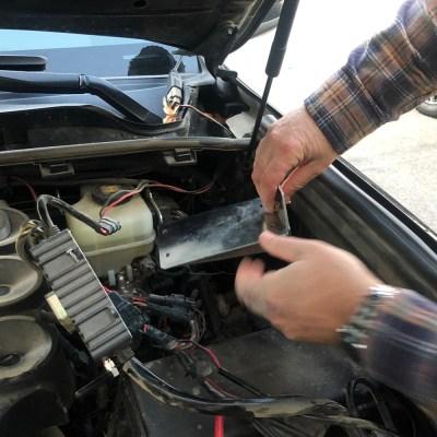 TRIGGER Toyota 4Runner Underhood Controller Bracket Installing