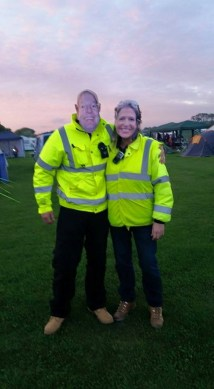 Tomfoolery with campsite wardens!