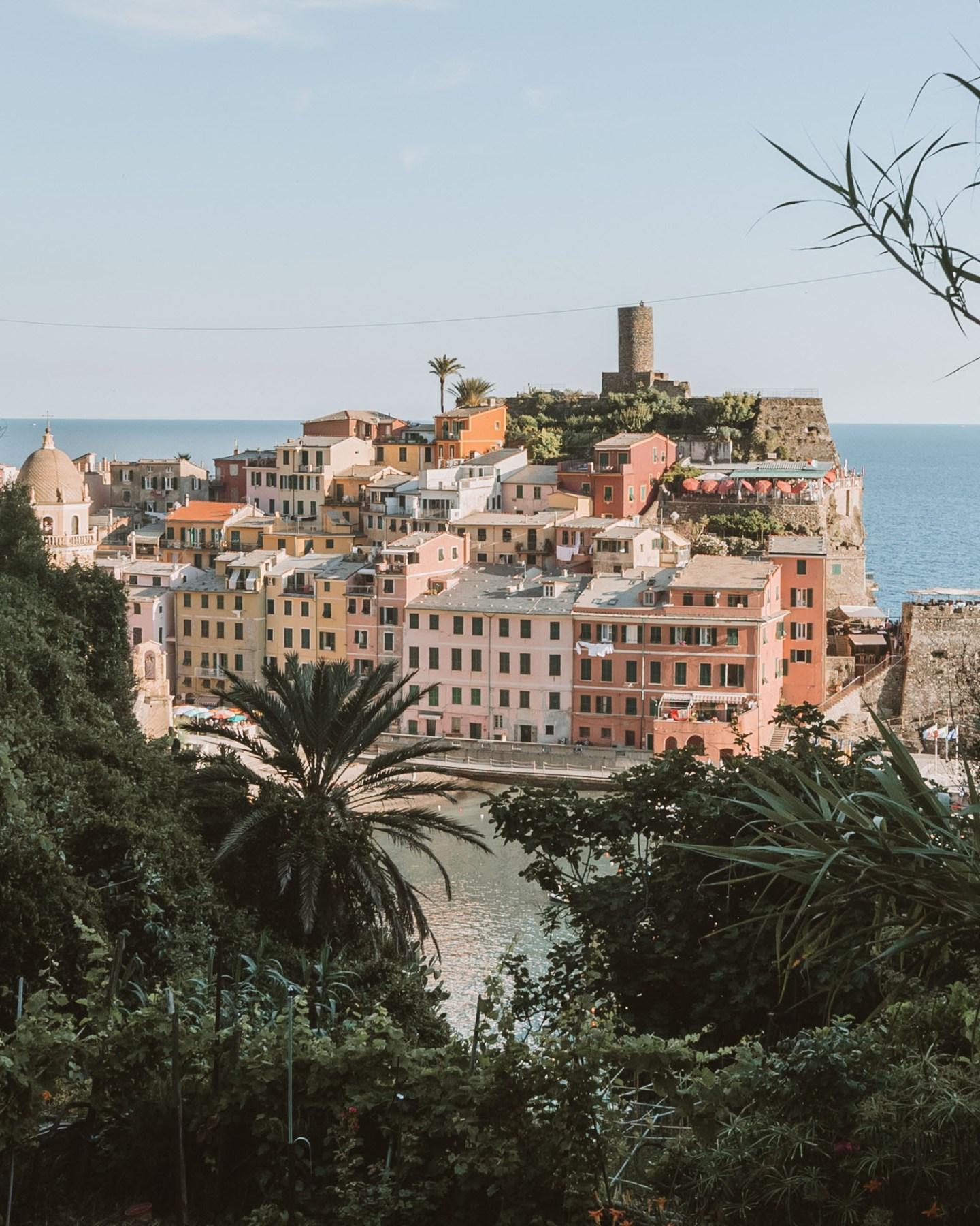 view of vernazza in cinque terre italy