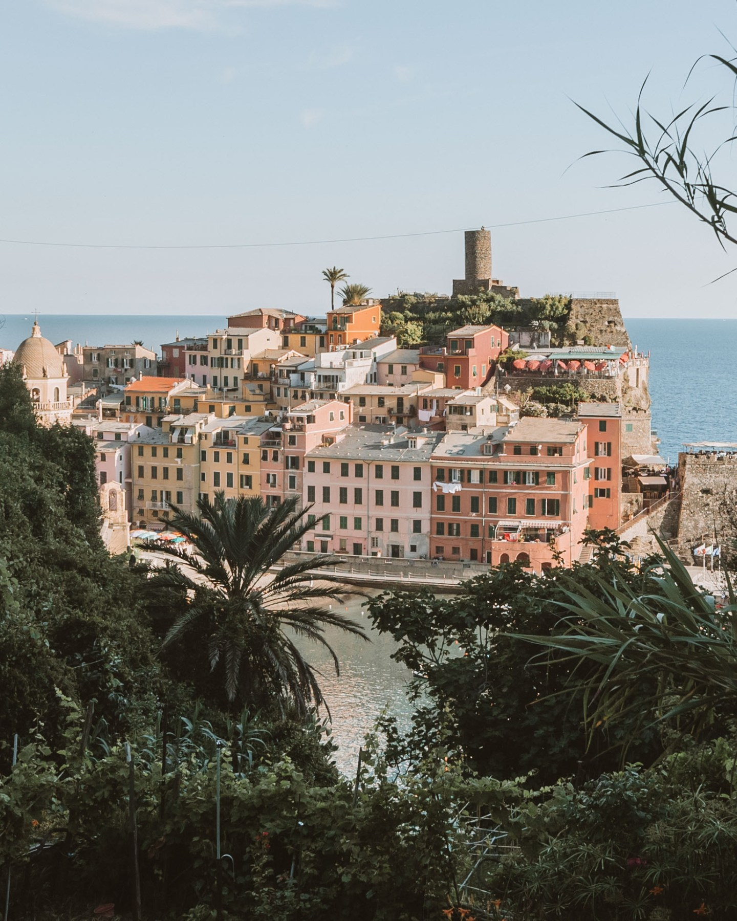 view of vernazza in cinque terre italy