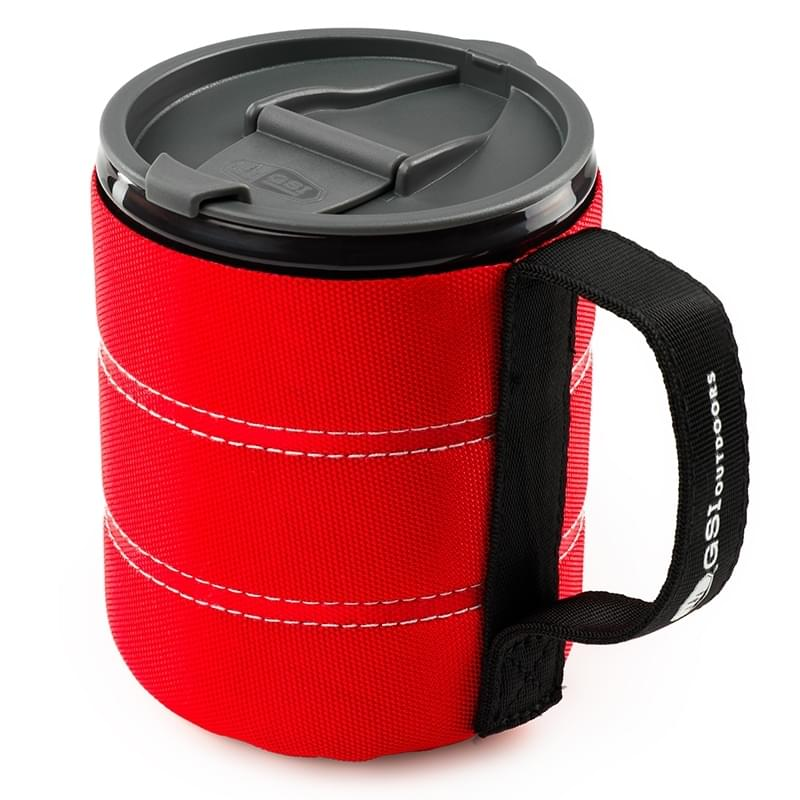 Red Backpacking Mug