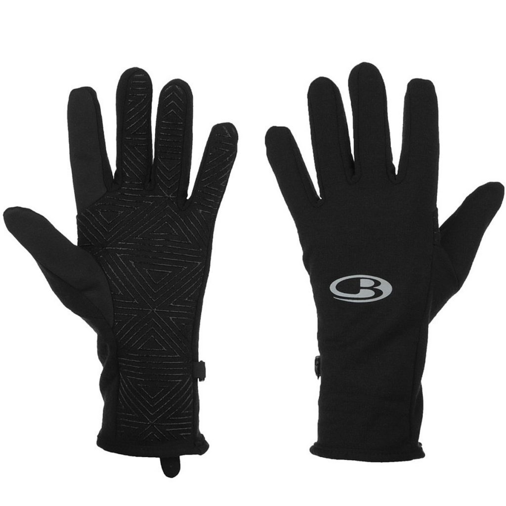 Icebreaker Black Gloves
