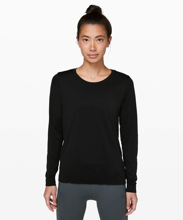 Black Long Sleeve Lululemon