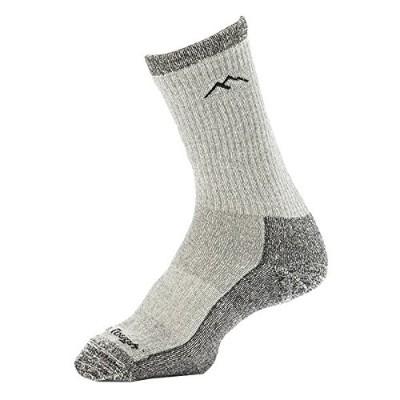 Women's Hiking Boot Sock Merino Wool Light and Dark Grey