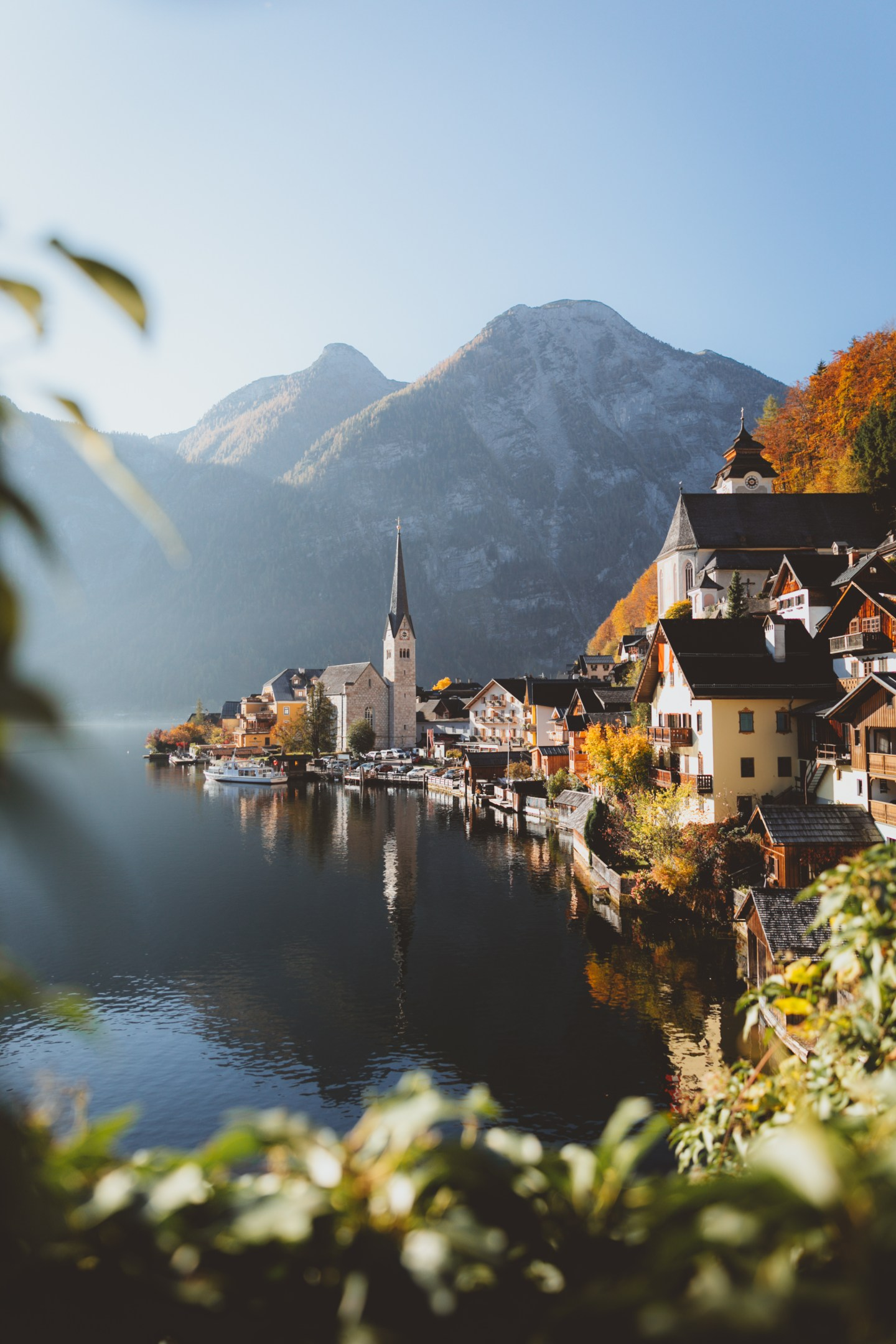 Hallstatt at sunrise