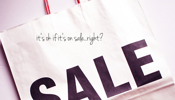 """French Connection and a Seasonal Sale for """"Confessions of a Bargainista"""""""