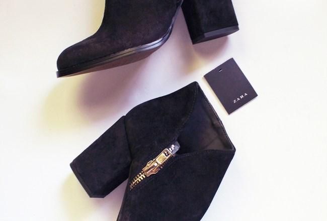 Zara-suede-bootie