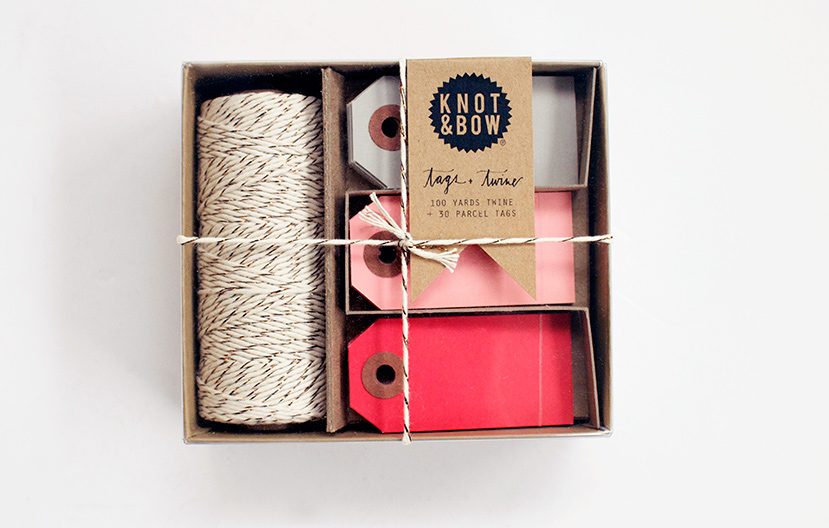 Knot & Bow and a Lovely Way to Add Some Holiday Cheer to Your Gifts