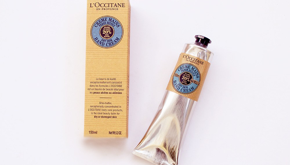 L'Occitane's Creme Mains (hand cream) with Shea Butter for Your Winter Weathered Skin