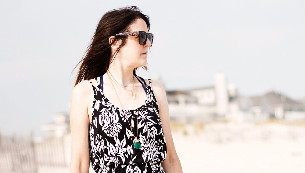 A Loft Dress and a day in the Hamptons