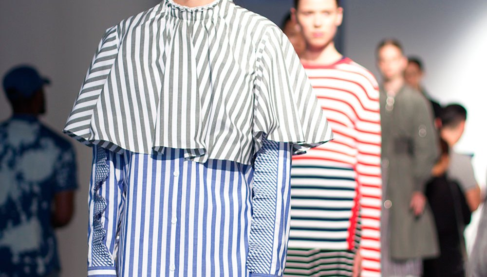 Kuho SS 2017 Showing at the Super Market for NYFW