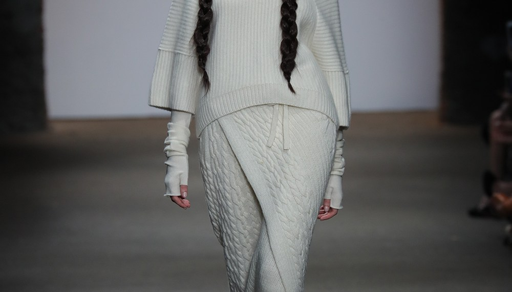 Cashmere Song at the nolcha shows for nyfw