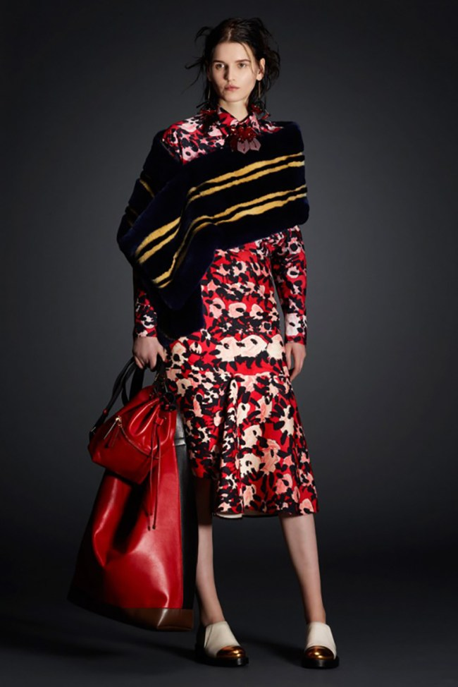 A little arrogance can be a good thing. Just enough to tell the world I have certain something, and in the case of Marni's new line up for fall 201