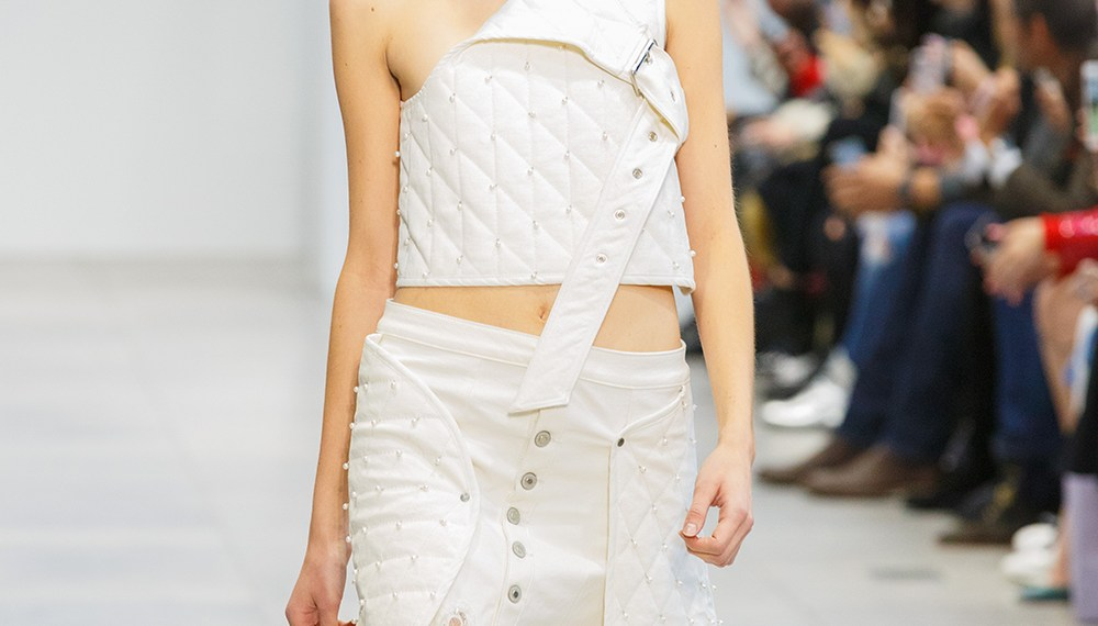 Gemma Hoi Fall 2018 at the nolcha shows for nyfw