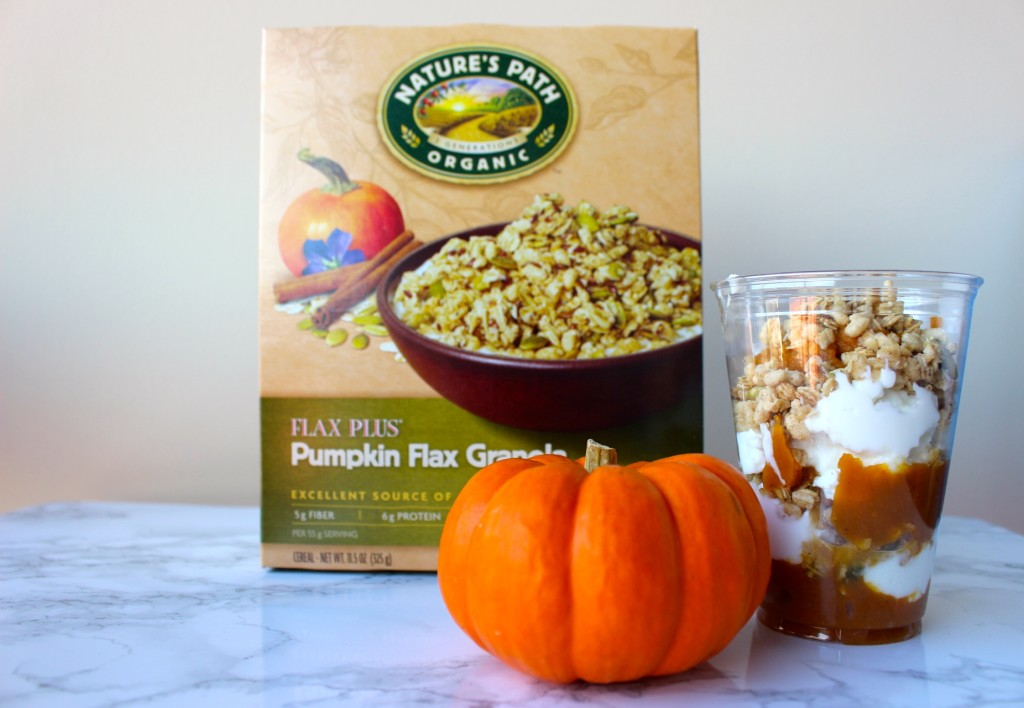 5 Minute Healthy Pumpkin Yogurt Parfait
