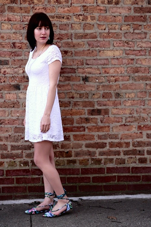 AMIClubwear Lace Dress