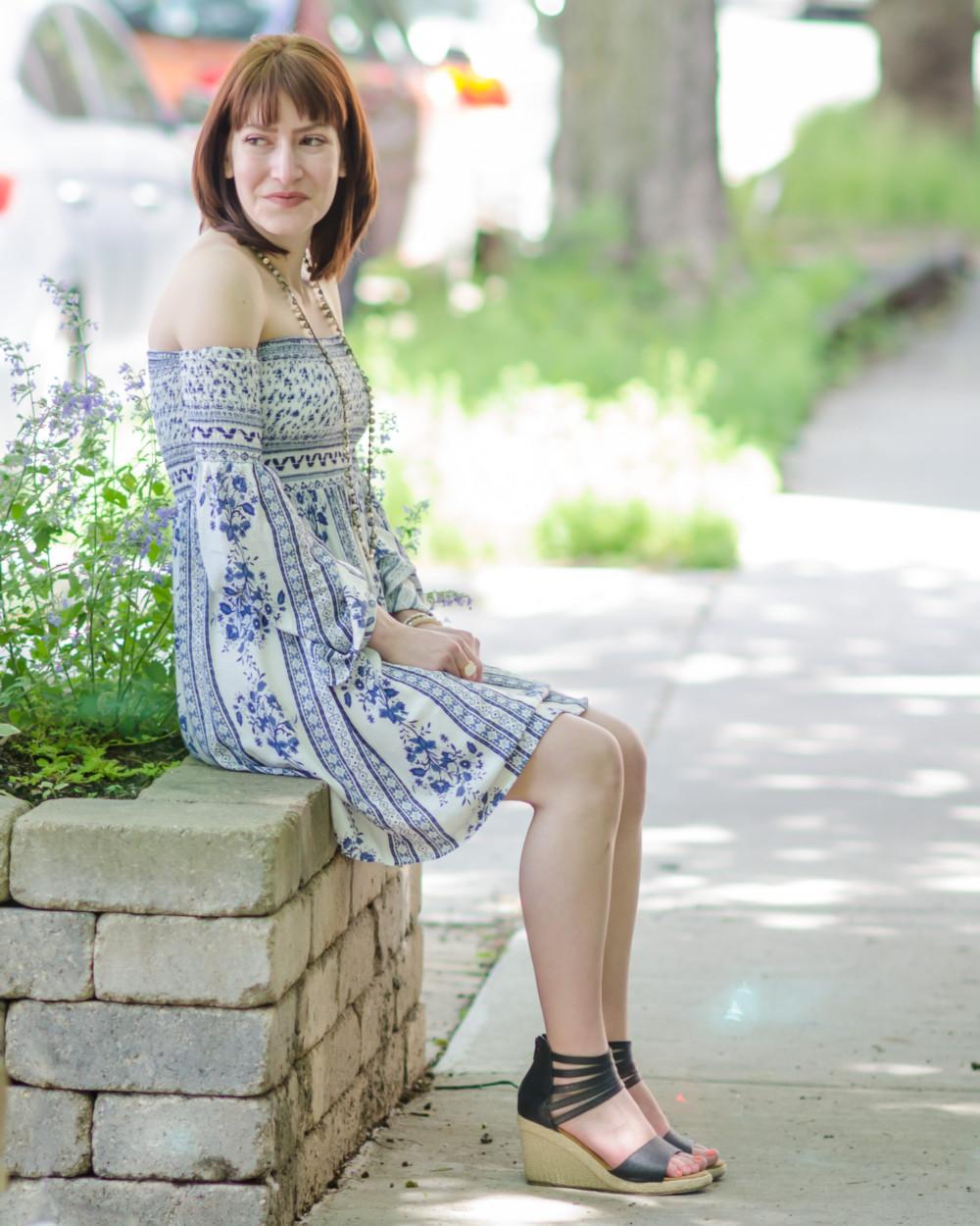 AKIRA Off the Shoulder Dress