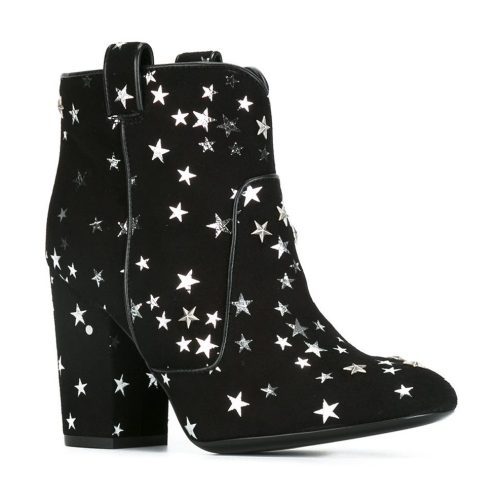 laurence dacade star print boots