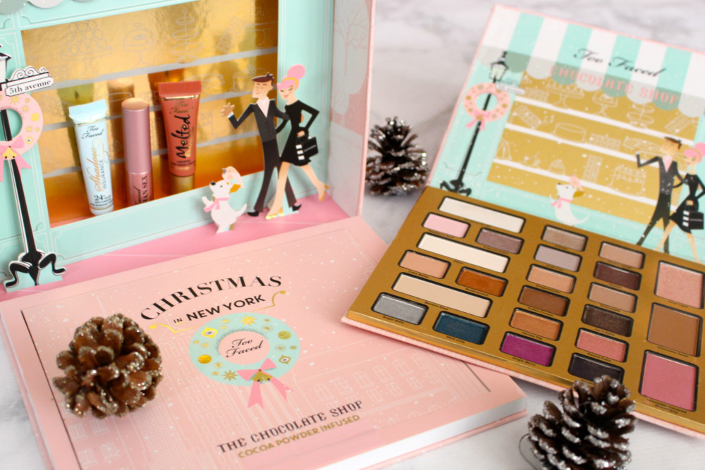 Giveaway Too Faced Christmas In New York Palette Allies Fashion