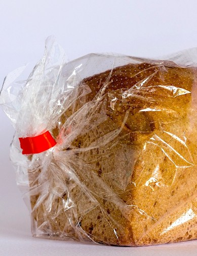 A bread bag tie is a good piece of metal to use as a nose piece.
