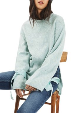 topshop-tie-cuff-sweater