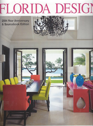 Florida Design Magazine Vol #25 Anniversary