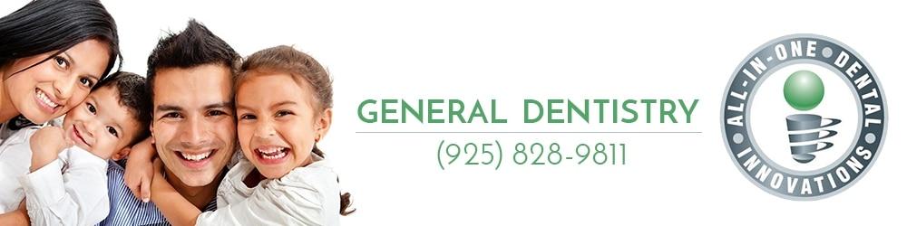 General Dentistry - Dublin CA - All In One Dental - 94568