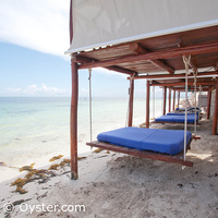 Azul Beach Hotel swinging daybeds