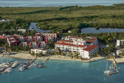 Cancun Bay Resort aerial view