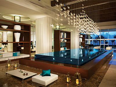 Now Jade renovated lobby