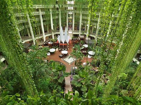 Paradisus Cancun lobby