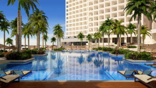 Hyatt Ziva Cancun pool