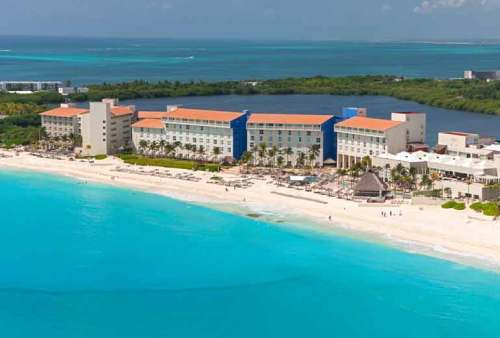 The Westin Resort and Spa Cancun aerial view